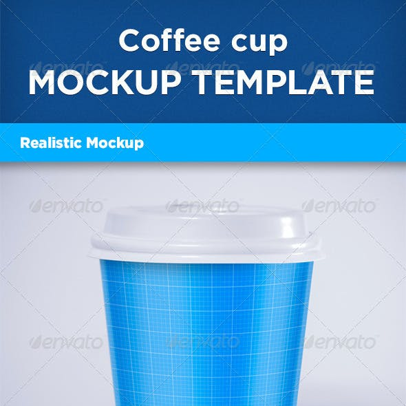 Realistic Coffee Cup Mock-up