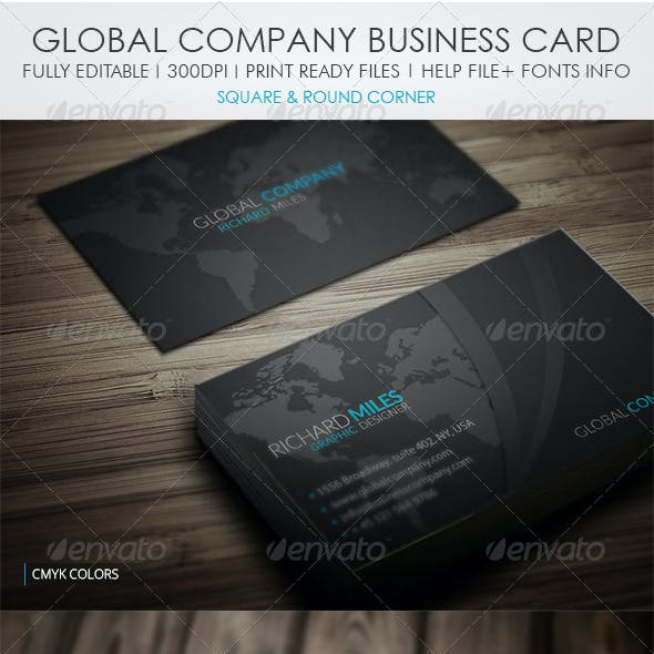 Global Group Business Card
