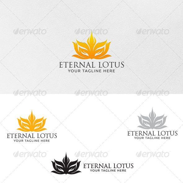 Eternal Lotus - Logo Template
