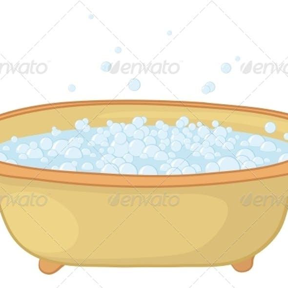 Bath with Bubbles