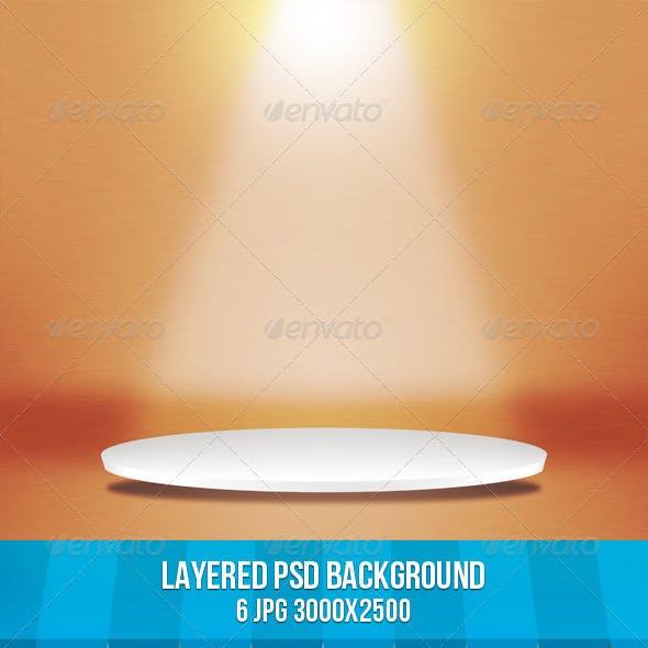 Round Stage Background