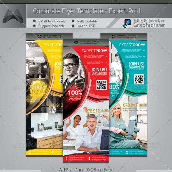 Multipurpose Corporate Flyer - Expert Pro II