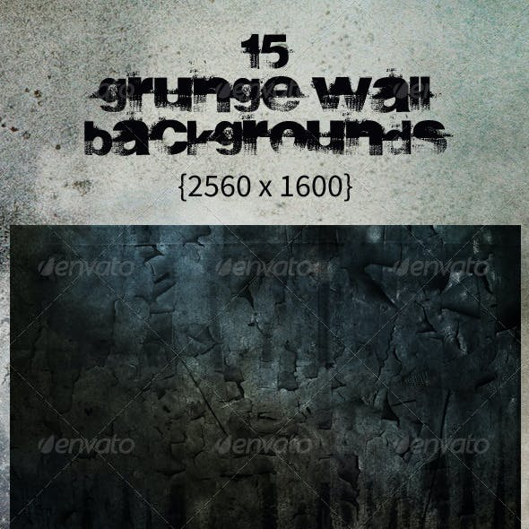 15 Grunge Wall Backgrounds - Urban Decay