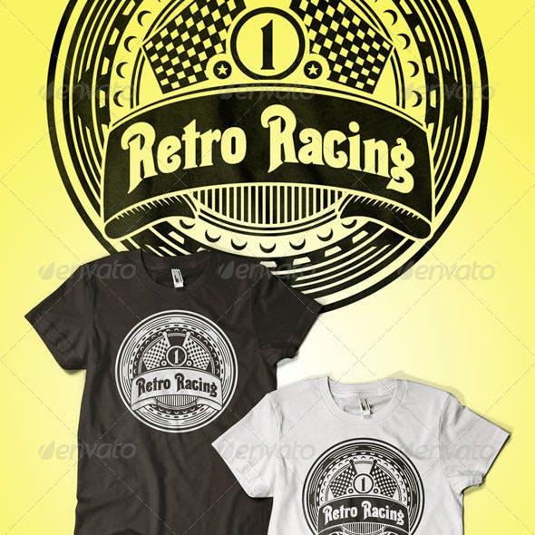 Retro Racing T-Shirt