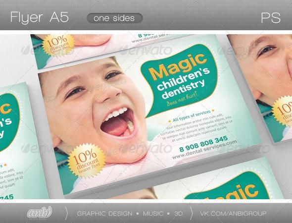 Children's Dentistry - Corporate Flyers