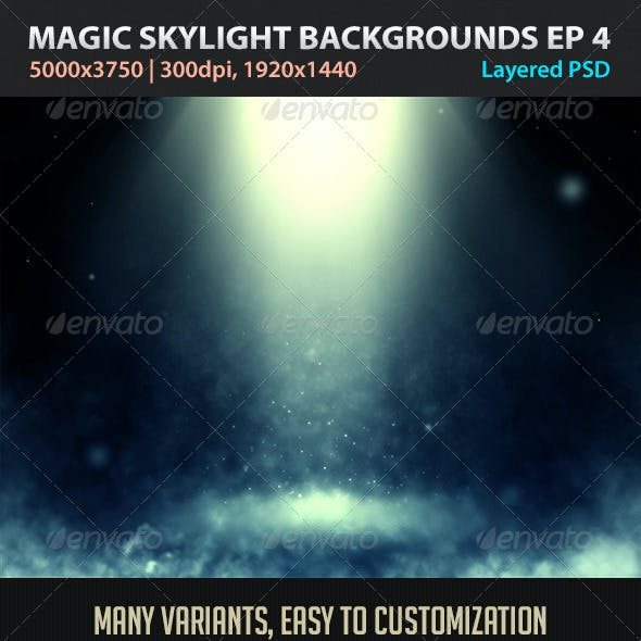 Magic Skylight Backgrounds EP 4