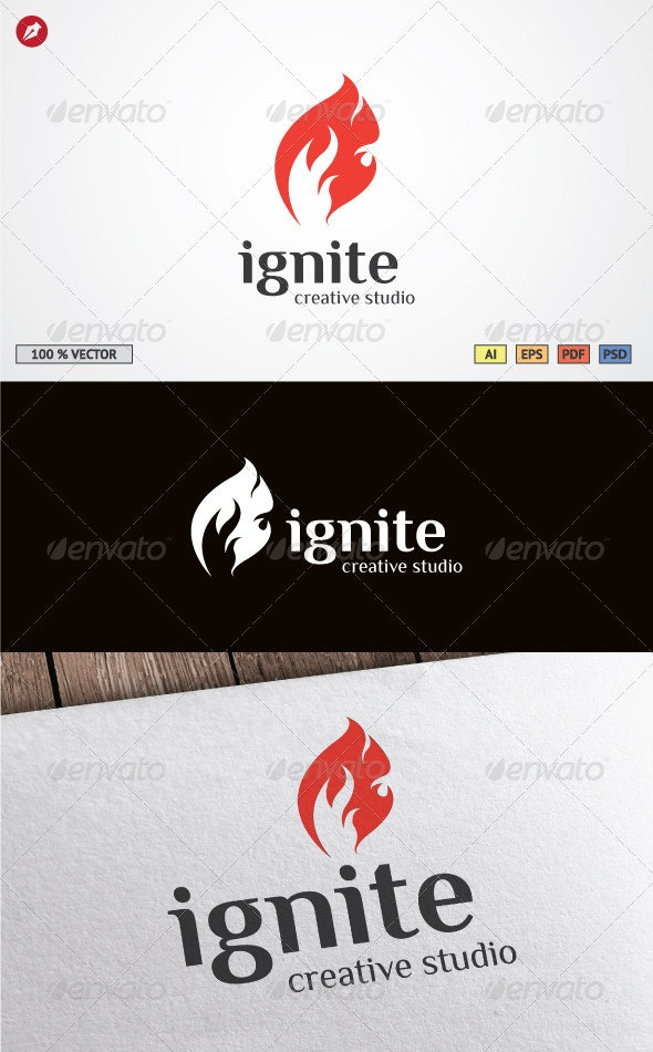 Ignite Logo Template - Objects Logo Templates