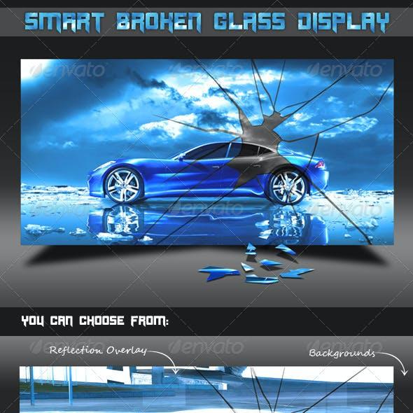 Smart Broken Glass Display