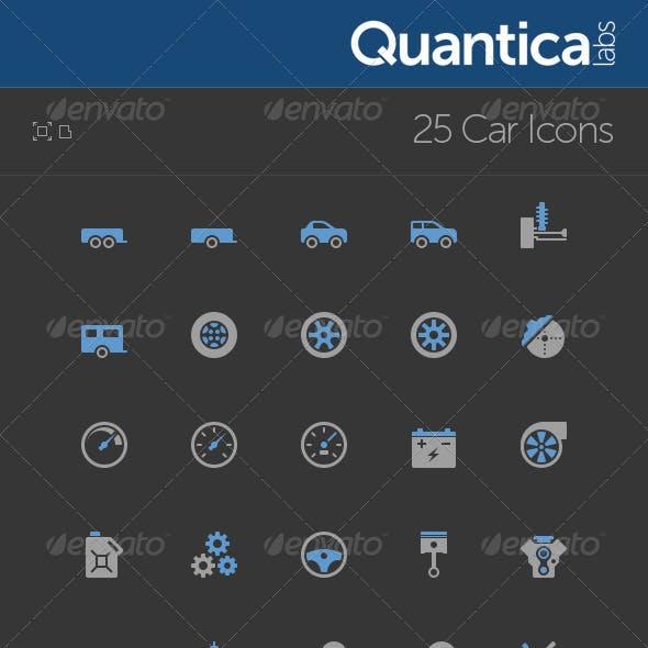 25 Car Icons