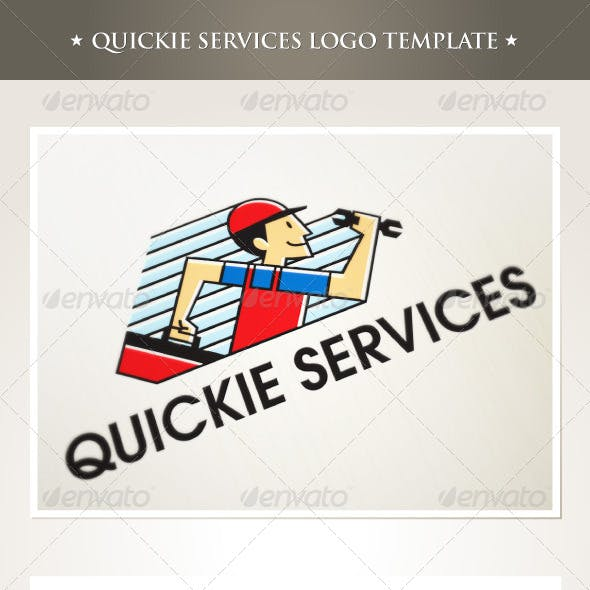 Quickie Services Logo Template