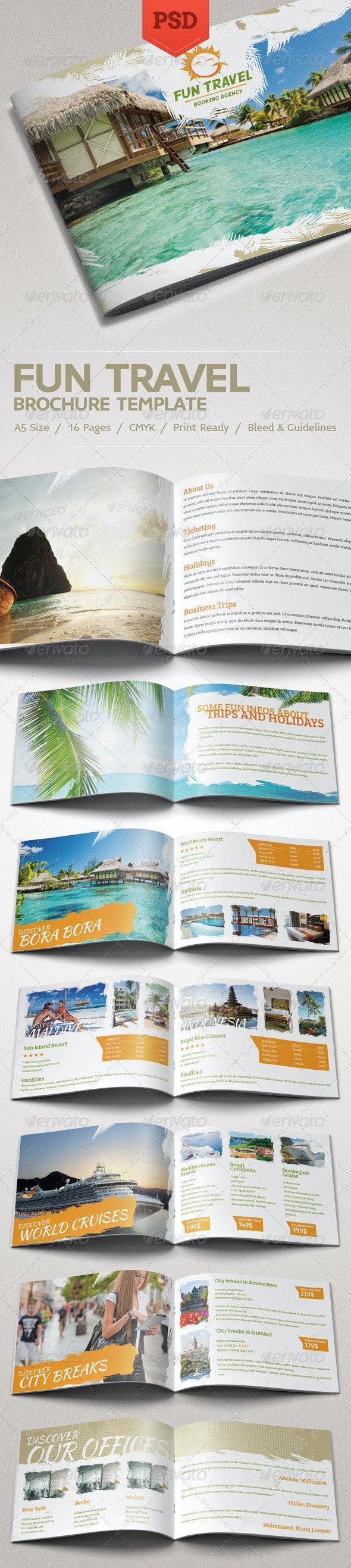 Fun Travel Brochure - Catalogs Brochures