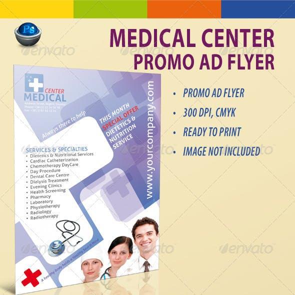Medical Center Promo AD Flyer