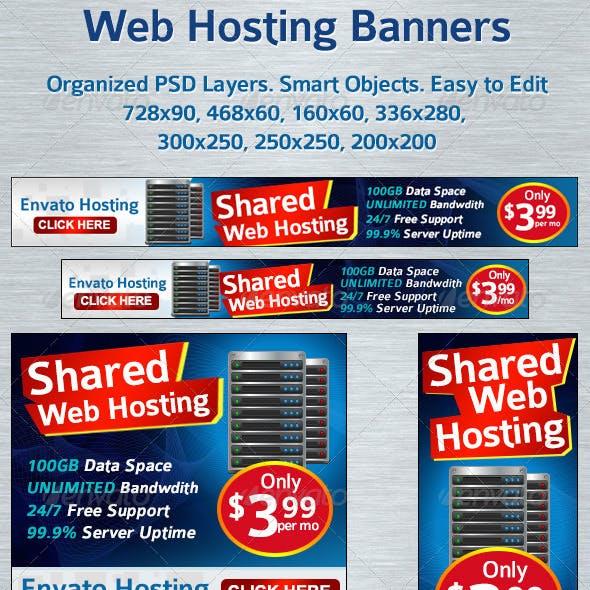 Web Hosting Banners