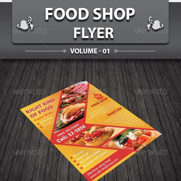 Restaurant Business Flyer | Volume 5