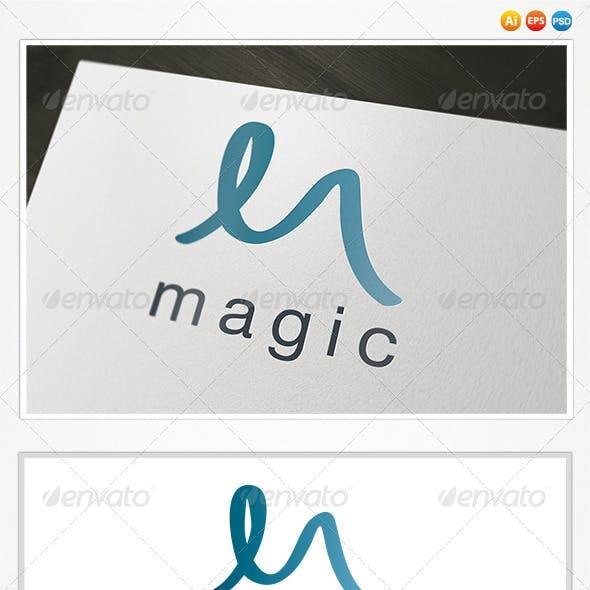 Magic M Letter Logo