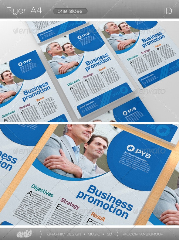 Business Promotion - Corporate Flyers
