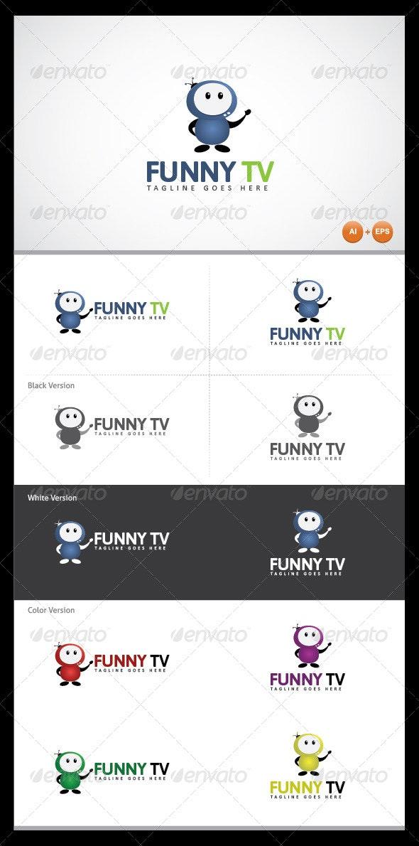Funny Tv Logo Template - Logo Templates