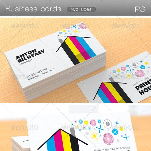 Printing House Business Card