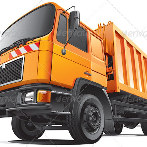 Compact Garbage Truck