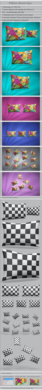 Pillow Mock-Ups - Miscellaneous Product Mock-Ups