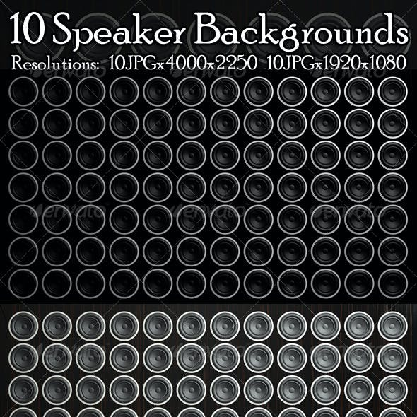 Speaker Backgrounds