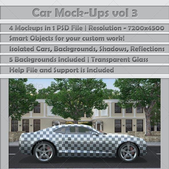 Car Mock-Ups v3
