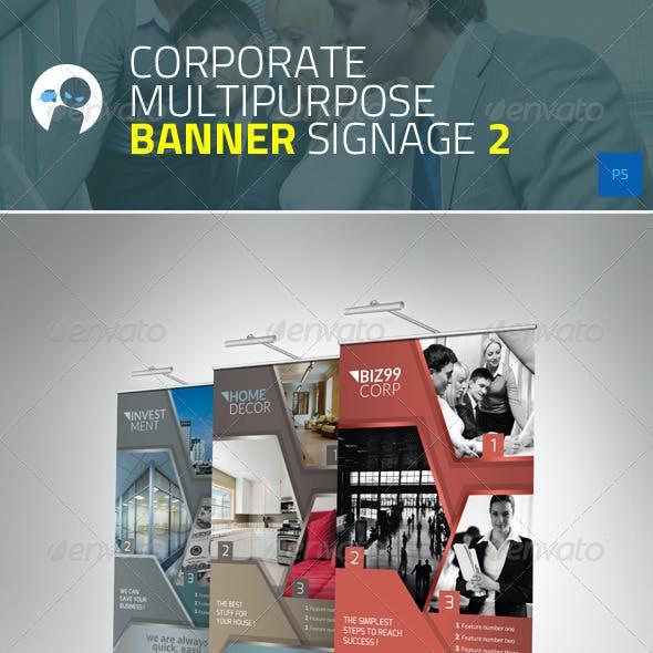 Corporate - Multipurpose Banner Signage 2