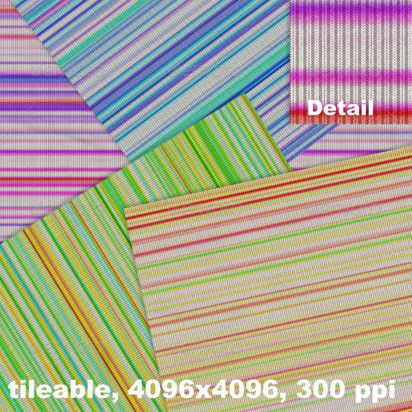 Jersey Multicolor Stripes