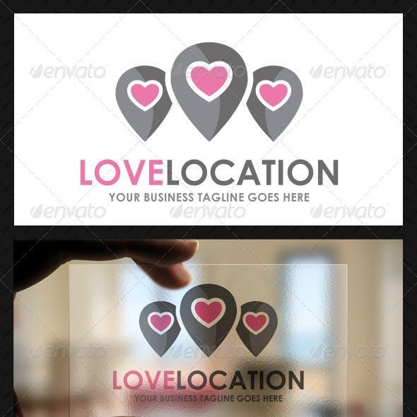 Love Locator Logo Template