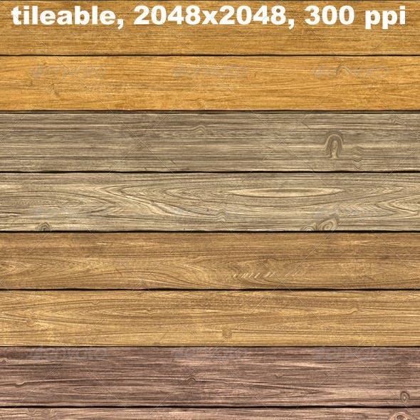 4 Woodplank Textures