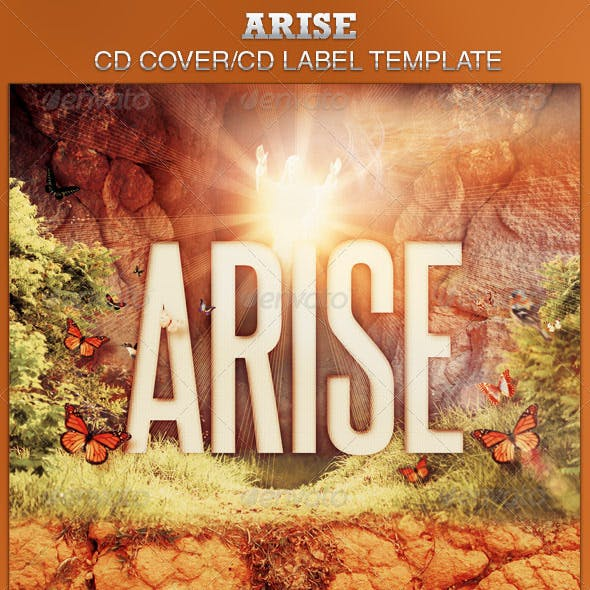 Arise CD Artwork Template