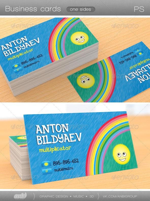 Multiplicator Business Card - Creative Business Cards