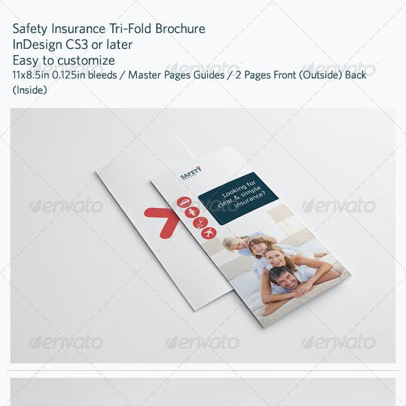 Safety Insurance Tri-Fold Brochure