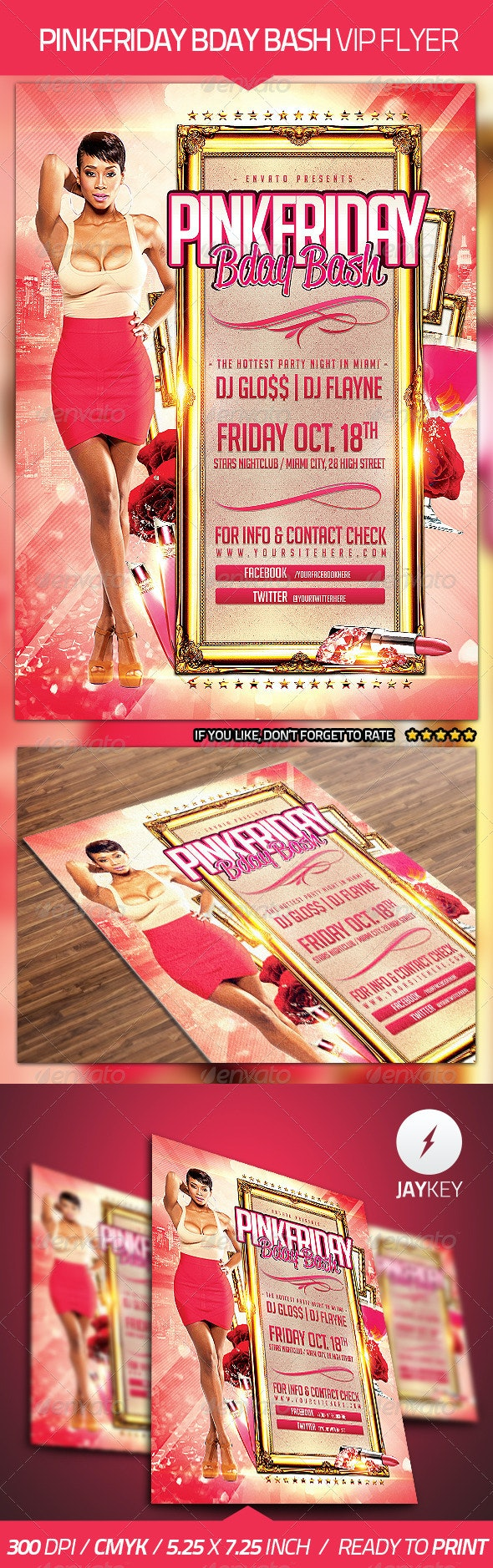 Bday Bash Party Flyer - Clubs & Parties Events