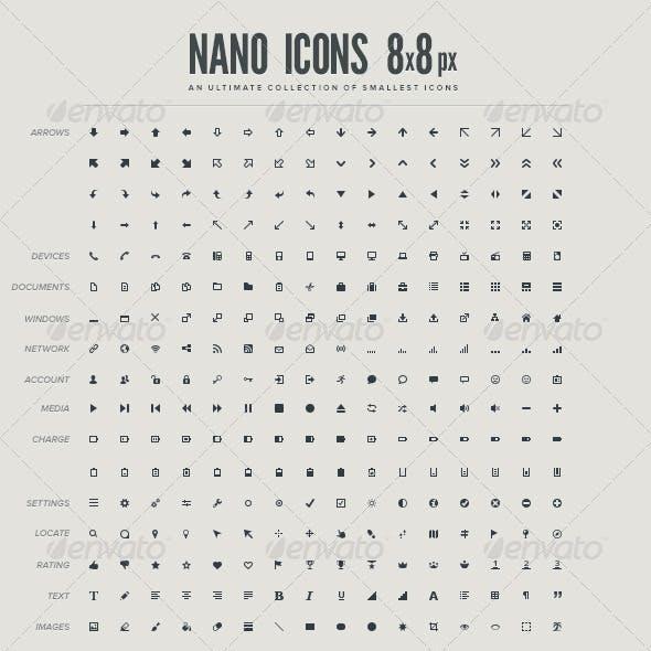 Nano Icons 8x8