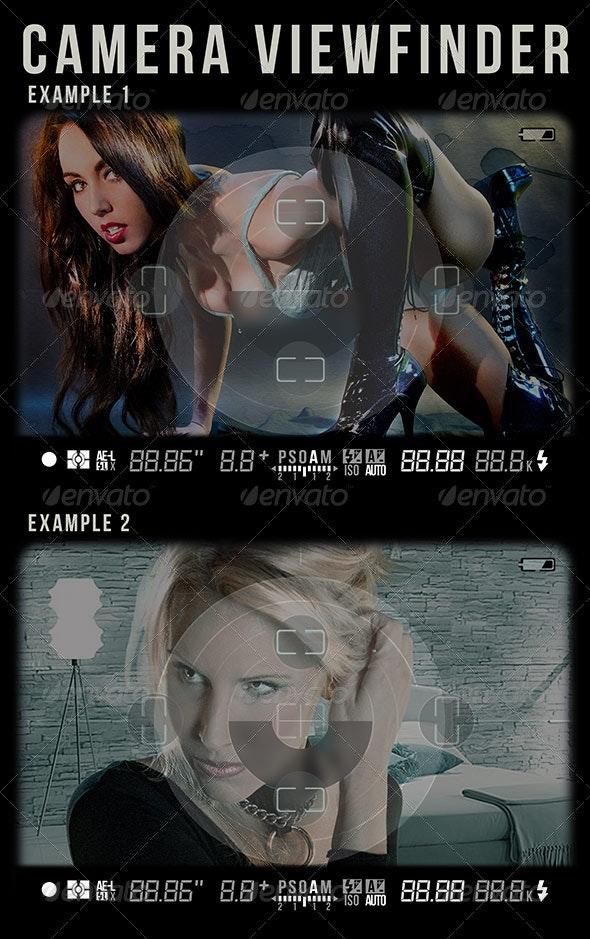 Camera Viewfinder - Photo Templates Graphics