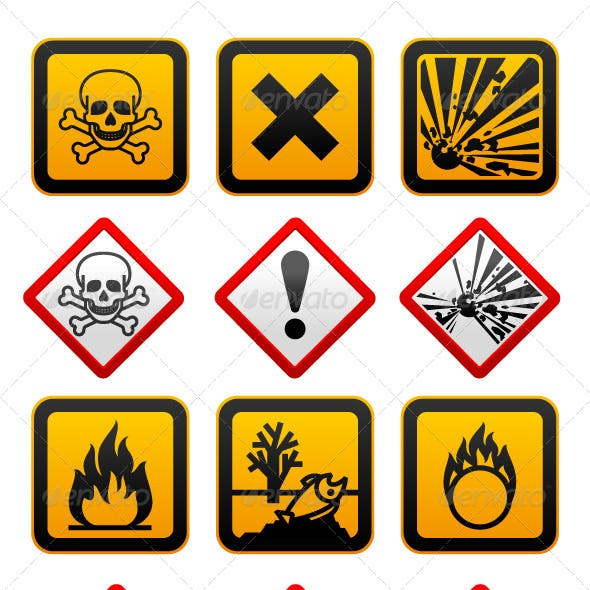 New and Old Hazard Symbols