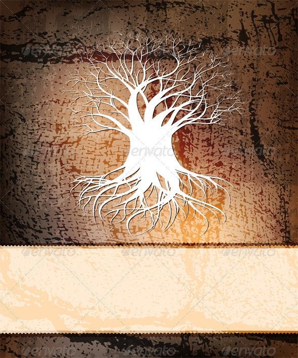 Tree background - Backgrounds Decorative