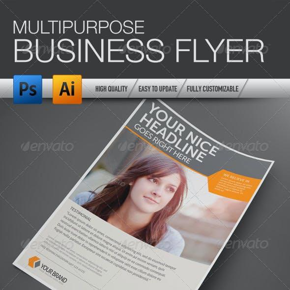 Multipurpose Business Flyer 4