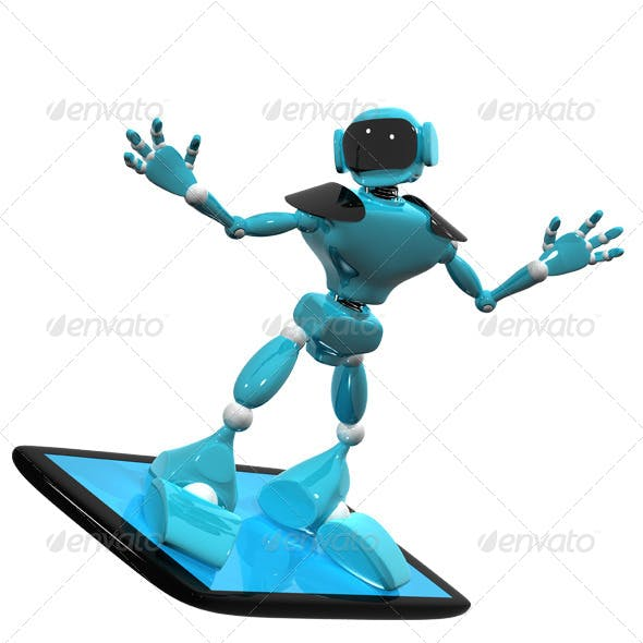 Robot on a Smartphone