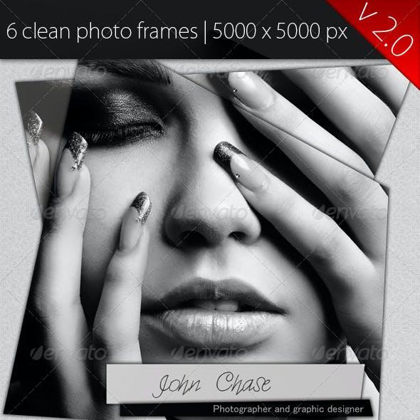 Clean Modern Photo Frames