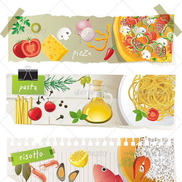 Italian Cuisine Dishes