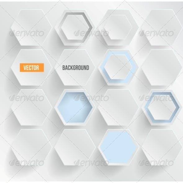 Hexagons Graphics, Designs & Templates from GraphicRiver