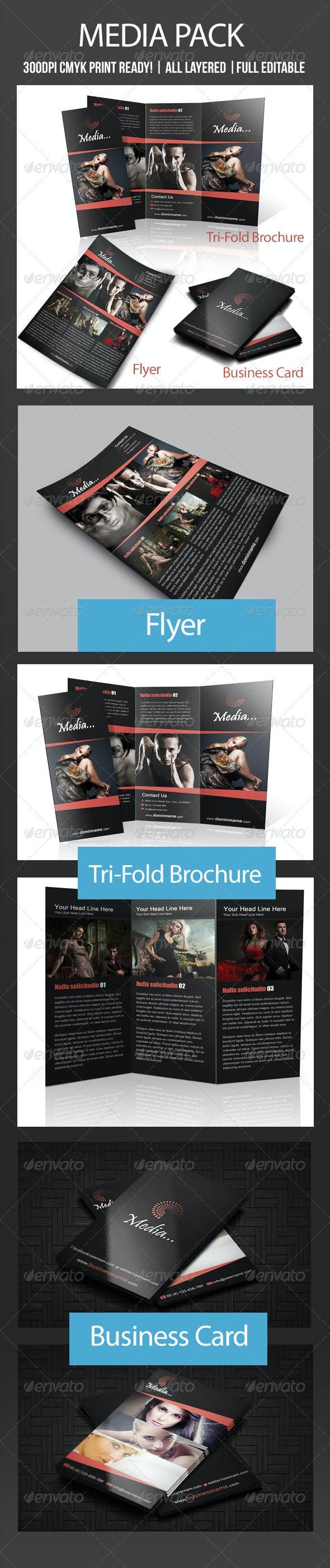 Media Bundle - Print Templates