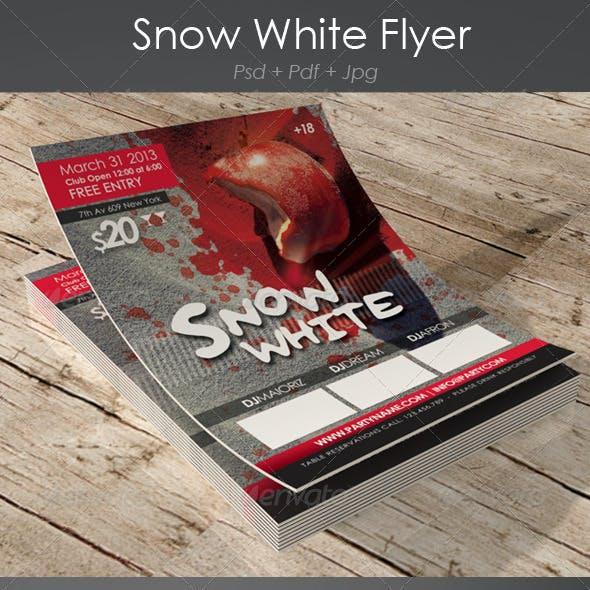 Snow White Flyer