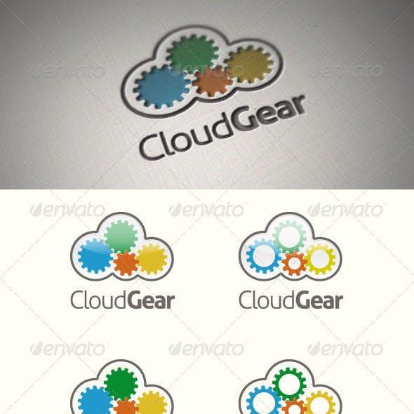 Cloud Gear Logo Template