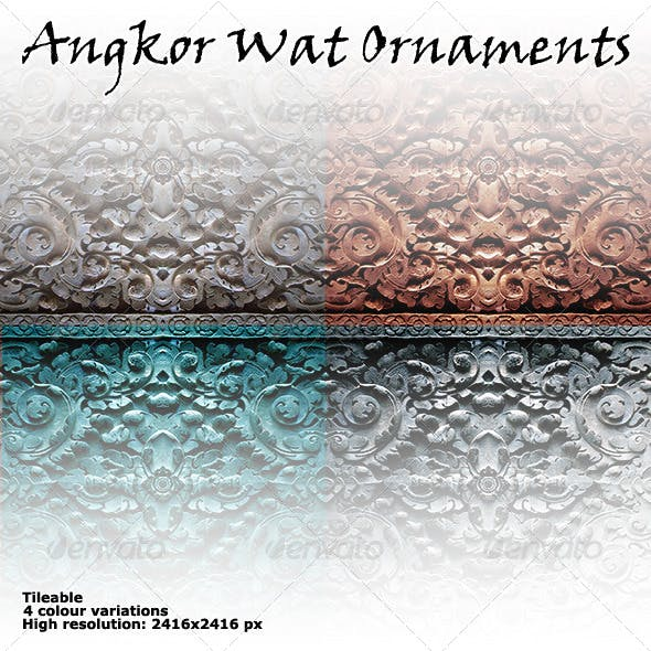 Asian Ornament Texture