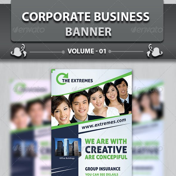 Corporate Business Banner | Volume 3