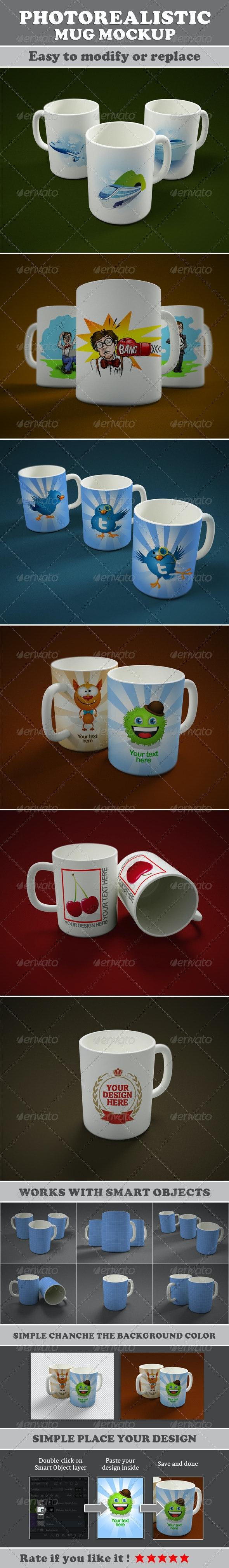 Mug Mockup - Miscellaneous Print