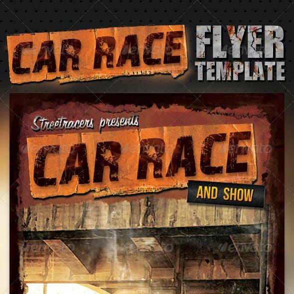 Car Race Flyer